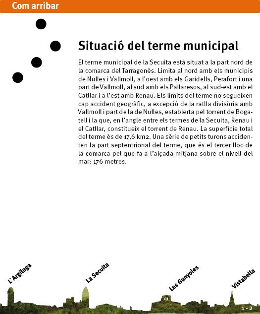 Situació del terme municipal