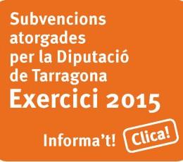 Subvencions Diputacio 2015