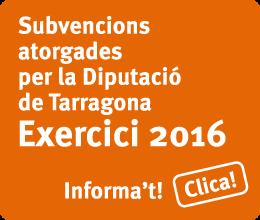 Subvencions Diputacio 2016