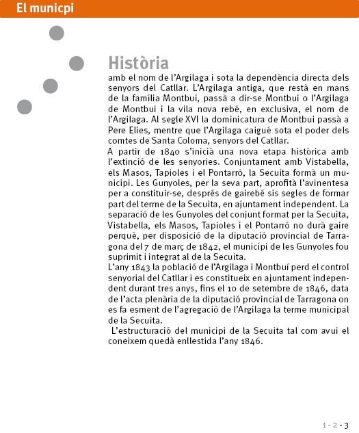 Història del municipi (i 3)