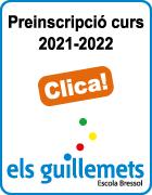 Escola Bressol Els Guillemets. Document preinscripció curs 2021-2022