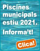 Piscines municipals temporada estiu 2021